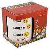 Stor Taza Ceramica 325 ML con Caja | Emoji Week