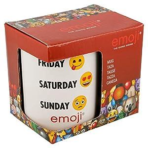 Stor Taza Ceramica 325 ML con Caja   Emoji Week