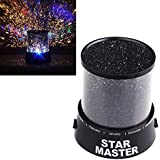 Gzqnan Led Usb Spin Rotation Lighting Sky Master Of The Night Star Projector Lamp (Multicolour, 0.5 W)