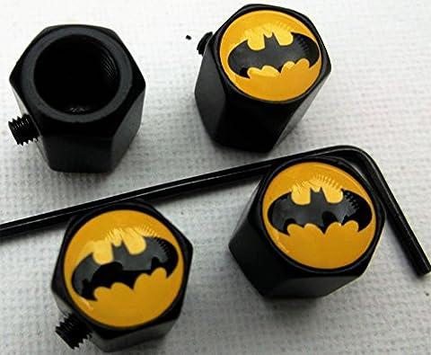 BATMAN LOGO LOCKABLE SECURITY DUST CAP allen key