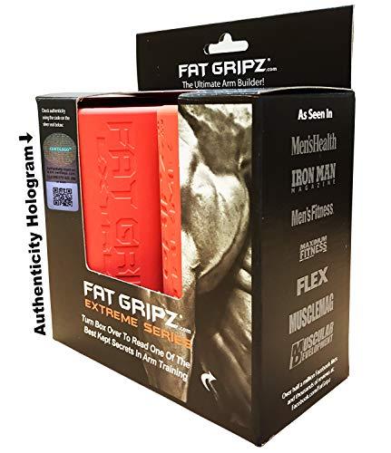 Fat Gripz Extreme Hantelgriffe (7 cm Durchmesser, Orange, am meisten spezialisiert)