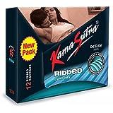 KamaSutra Ribbed - 12 Condoms