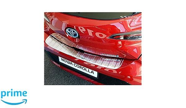 Avisa 2//23017 Edelstahl Einstiegsleisten Toyota Corolla XII Limousine//Hatchback//Touring Sports Hybrid 2018-4-Teilig