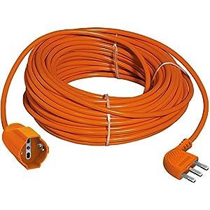 BTicino S2515X40 Prolunga Garden ad Alta Flessibilità 2P+T, con Presa Tedesca, Lunghezza 15 m, 3500 W, 250 V, Corrente… 51kvNm1vcKL. SS300