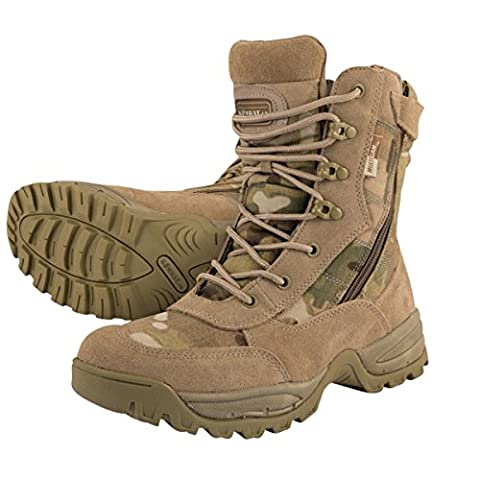 Kombat UK Men's Spec-Ops Recon Boots 9, Multi-Cam, Size 9