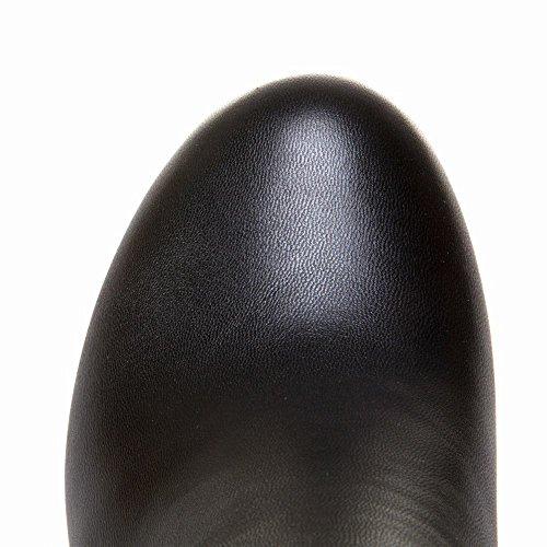 MissSaSa Donna Scarpe col Tacco Alto Elegante e Dolce Nero
