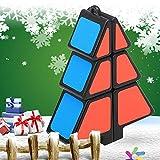 TAOtTAO Weihnachtsbaum Dekompressionsspielzeug Zauberwürfel 1X2X3 Weihnachtsbaumwürfel Puzzle Ultra-Smooth Magic Puzzle Weihnachtsgeschenke (A)