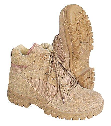 McAllister Semi Cut Boots Outdoor Wanderschuhe Wanderstiefel Schuhe (Beige/43)