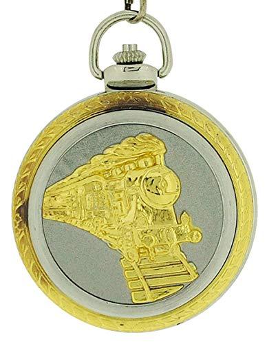 12-Taschenuhr, Metallarmband Silber ()