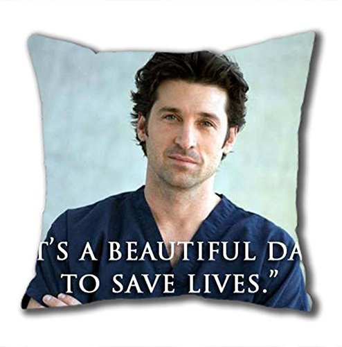 Preisvergleich Produktbild iCustomonline Grey's Anatomy Standard Size Design Square Pillowcase in 40*40CM/16*16Inch