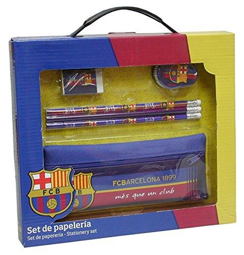 Fc Barcelona – Set de papelería con portatodo f.c. barcelona (escritura/estuches)