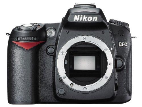 Nikon D90 SLR-Digitalkamera (12 Megapixel, Live-View, HD-Videofunktion) Gehäuse