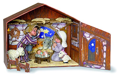 Nadal Decorative Figure the Nativity Scene Portal, Resin, 19.30x9.90x16.80 cm