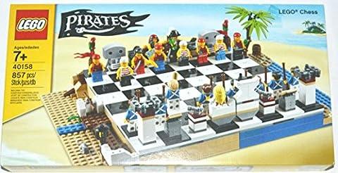 LEGO Piraten Schachspiel Schach 40158 Pirates Chess Set
