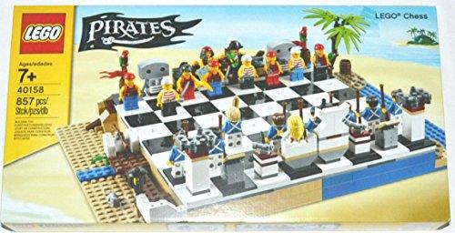 LEGO Pirates Juego de ajedrez - Juegos de construcción