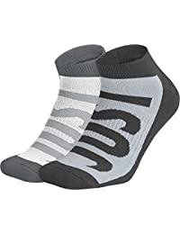 Nike Sportswear No-Show (2 Pair) Calcetines Hombre Gris