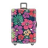 Gifts Treat Kofferabdeckung Gepäckabdeckung (ohne Koffer) (Farbe Blume, M(Fit 22