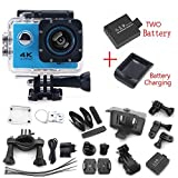 #8: Action Camera F60 Ultra HD 4K WiFi Underwater 30M Sports 2.0