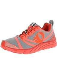 Pearl Izumi PI Shoes EM Trail N 2 Living Coral/Mand. Red 10.5 W