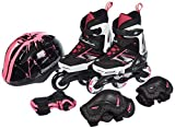 Rollerblade Patines spitfire cube g negro/rosa 230 8050459224986