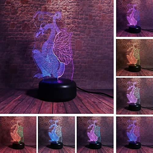 Heißes chinesisches Papier-geschnittenes Drache-Dinosaurierdoppeltes mischte Farbe, die alte Drache-Kunstlampe mit 7-Ton-schwacher Steigung überrascht