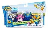 Alpha Animation & Toys Super Wings Transform-a-Bots 4pk vehículo de Juguete - Vehículos de Juguete (Multicolor, 4 año(s), 9 año(s), Niño/niña, Interior, 60 mm)