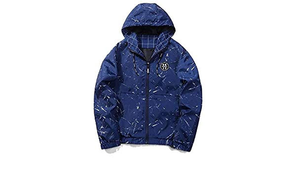 Abetteric Mens Athletic Zip-Front Multicamo Utility Hooded Trench Coat