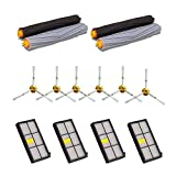 HOMLY Replacement Parts Kit for iRobot Roomba 800 900 Series 860,865,866,870,871,875,876,880,886,960,961 980 964 Vacuum Cleaner Accessories with 2 Pairs Debris Rollers,4 Filters,6 Side Brushes