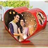 Atorakushon Love Shep Rotating Heart Photo Frame Classic Table Top Portrait Valentine, Friendship Day, Gift For Girlfriend Boyfriend Husband Corporate Office Desk Bedroom Home Decor Wedding Picture Picture OR Photo Frame