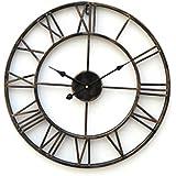 """LightInTheBox Retro 20 """"reloj de pared de metal de estilo rústico"""