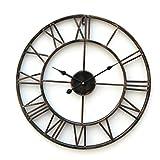 LightInTheBox Retro 20 'reloj de pared de metal de estilo rústico