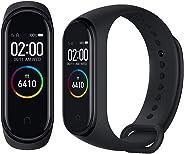 Xiaomi Miband Band 4 - Fitness Tracker, con Schermo a Tutto Colore, da Uomo, Colore: Nero, 0.20