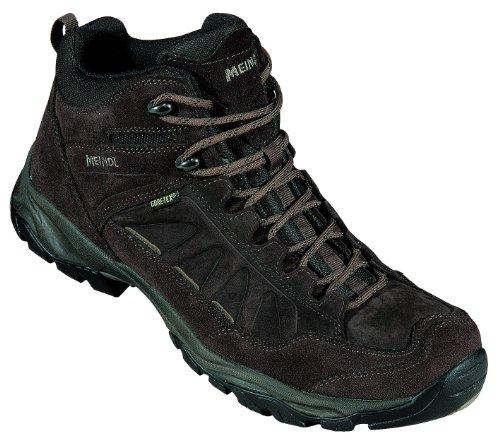 Meindl per passeggiate-trekking/in-pelle nubuk, Gore Tex, Air Active base letto, (mahagoni Nebrasky Mid GTX)