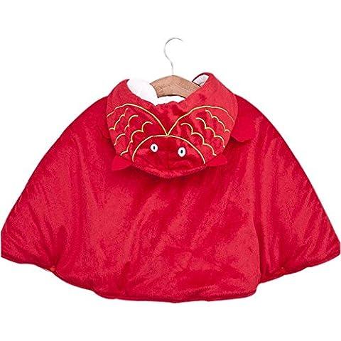 bebé Cloak Mantón Baby Blankets doce constelaciones bebé Cloak Red de Piscis