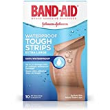 Band-Aid Brand Adhesive Bandages, Extra Large Tough Strips, Waterproof, 10 Count by Band-Aid
