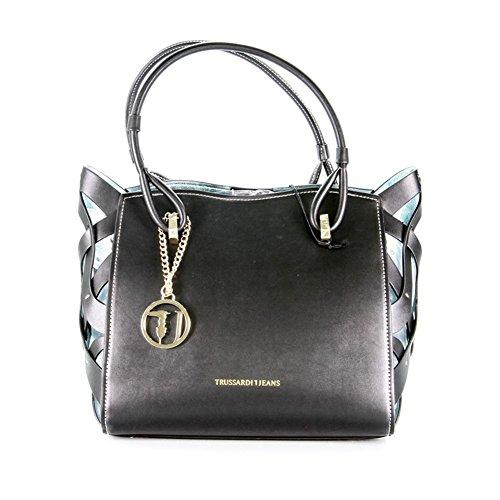 Borsa Donna in Ecopelle   Trussardi Jeans Dahlia   75B0033899999-Black