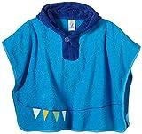 Sterntaler Baby - Jungen Bademantel, Einfarbig, Gr. One Size, Blau (Azur 334)