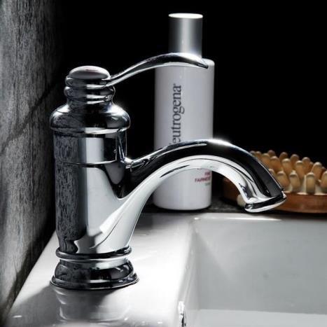 Faucat Kupfer Antik - Becken Wasserhahn, Europäischen Stil Retro - Tabelle, Waschbecken Wasserhahn, Pot - Becken Wasserhahn