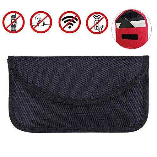 Go-smart-phone (Strahlenschutz Tasche Secure Bag für Smartphones Handytasche gegen Handy Ortung, Abhören & Spionage für Keyless Schlüssel Entry Open Go Diebstahl Schutz)