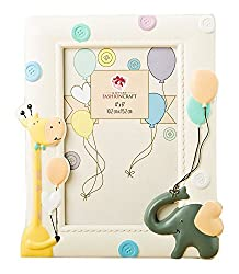 Fashioncraft Adorable Giraffe And Elephant Baby Frame