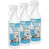 HG Hygienischer Kühlschrank-Reiniger, 3er Pack(3 x 500 ml)