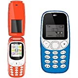 I Kall Combo (K3312 Red + K71 Light Blue) Feature Mobile Phone With 101 Days Replacement Warranty