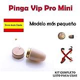 Auricular Vip Pro Mini Oculto Para Examenes (Carne)