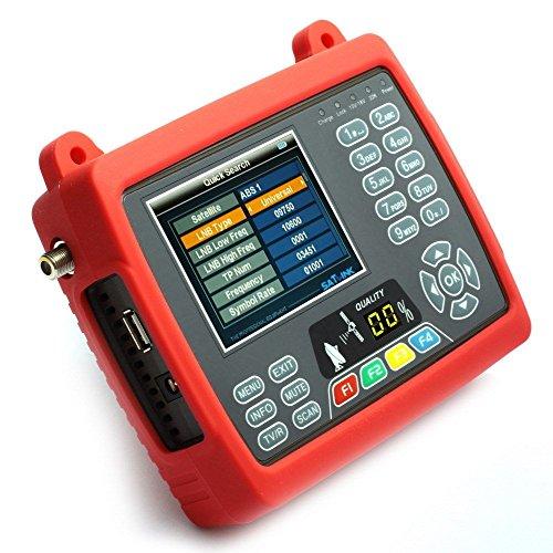 SatLink WS-6950 Medidor de Campo LCD 3,5' DVB-S BUSCADOR DE SEÑAL SATELITE LNB