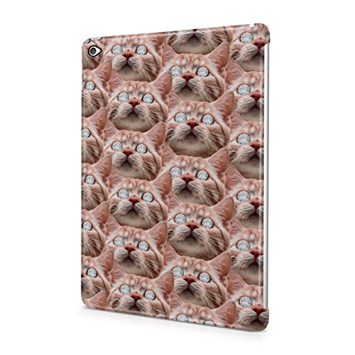 ginger-cat-diamond-eyes-dope-rich-high-life-plastic-snap-on-protective-case-cover-for-ipad-air-2