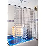 Duschy Shower Curtain 3D Transparent by Euroshowers