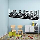 CartoonSpiel Vinyl Wandaufkleber Poster Dekor Für Kinderzimmer Dekoration Aufkleber Kunst Aufkleber WandbilderL 43 cm X 113 cm