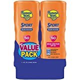 Banana Boat Sport SPF 50 Lotion, 2 pk./8 oz. (pack of 2)