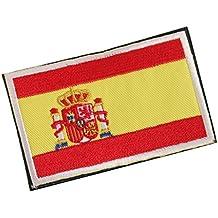 Parche bordado con la bandera de España de Hilai de 8 ...