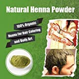 Henna Hair Color – 100% Organic and Chemical Free Henna for Hair Color Hair Care Natural Henna (Red) Henna Hair Dye 120 Grams (2 Pa...
